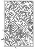 Download, print, color-in, colour-in Page 1 - Diamonds, Circles