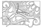 Download, print, color-in, colour-in Page 12 - butterfly