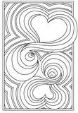 Download, print, color-in, colour-in Page 15 - two heart maize
