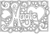 Download, print, color-in, colour-in Page 16 - Magic