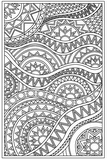 Download, print, color-in, colour-in Page 26 - spikey circles