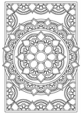 Download, print, color-in, colour-in Page 27 - centre flower