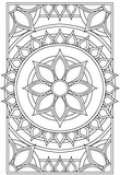 Download, print, color-in, colour-in Page 32 - centre daisy