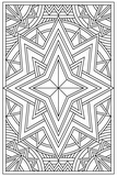 Download, print, color-in, colour-in Page 39 - centre diamond