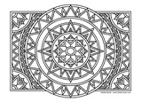 Download, print, color-in, colour-in Page 42 Diamonds and Circles