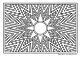 Download, print, color-in, colour-in Page 56 Sunrays