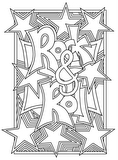 Download, print, color-in, colour-in Page 7 - Rock and Roll