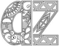 Download, print, color-in, colour-in Lowercase Pack